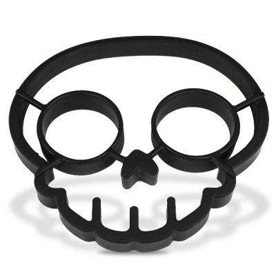 Innovative Skull Shape Silicone Egg Frying Mould Frying Pancake Mold Breakfast Mould Creative Kitchen Supplies for DIY PresentEgg Tools<br>Innovative Skull Shape Silicone Egg Frying Mould Frying Pancake Mold Breakfast Mould Creative Kitchen Supplies for DIY Present<br><br>Color: Black<br>Material: Others<br>Package Contents: 1 x Mould<br>Package size (L x W x H): 13.00 x 14.00 x 3.00 cm / 5.12 x 5.51 x 1.18 inches<br>Package weight: 0.1000 kg<br>Product weight: 0.0440 kg