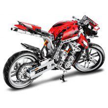 BEILEXING Motorcycle Style ABS Cartoon Building Brick - 431pcs