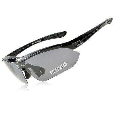 sunglasses for men sports  ROCKBROS Super Resilience Outdoor Sports Polarized Bicycle Sun ...