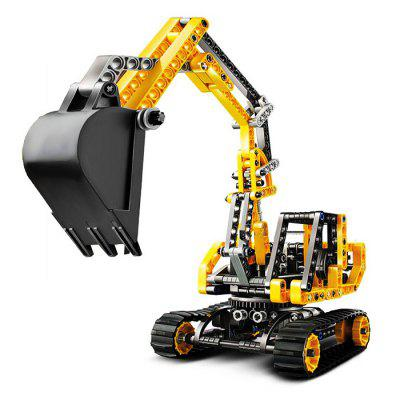 BEILEXING Machine Style ABS Building Brick - 286pcs
