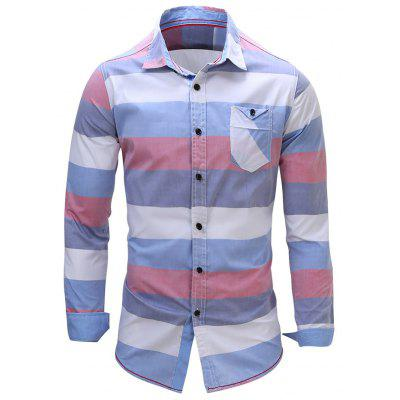 FREDD MARSHALL FM107 Male Casual Long Sleeve Shirt