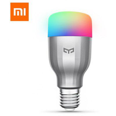 Xiaomi Yeelight YLDP02YL AC220V RGBW E27 Smart LED Bulb original xiaomi yeelight e27 smart led bulb wifi smartphone control rgb lamp
