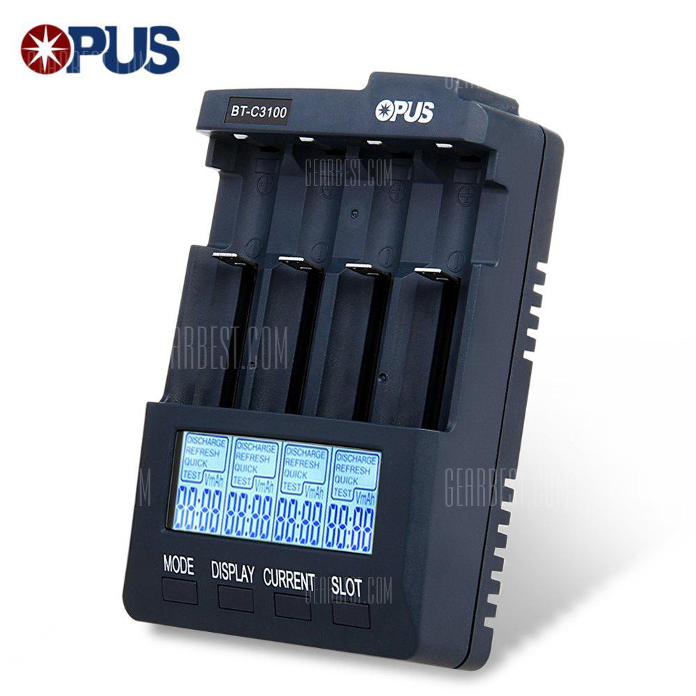 Opus BT - C3100 V2.2 Smart Battery Charger - PURPLISH BLUE