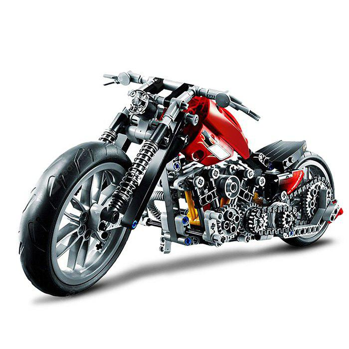 BEILEXING Autocycle Style ABS Cartoon Building Brick