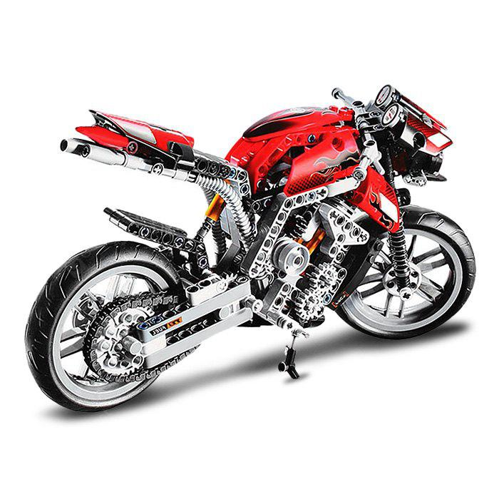 BEILEXING Motorcycle Style ABS Cartoon Building Brick - 431pcs - COLORMIX
