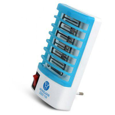2 in 1 Mini LED Lamp Mosquito Killer  -  220V
