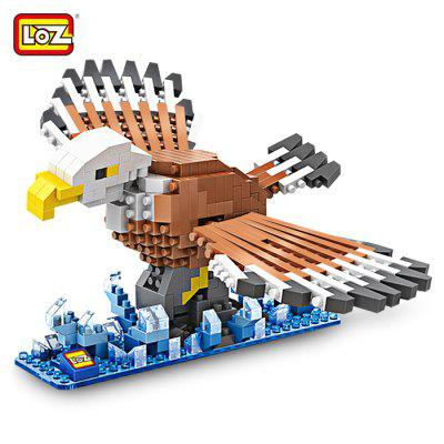 LOZ Eagle Style Cartoon ABS Building Brick - 340pcs