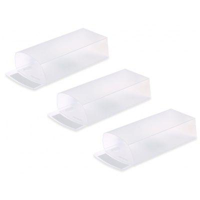 3PCS Desktop Pen Holder Quadrilateral Storage Box
