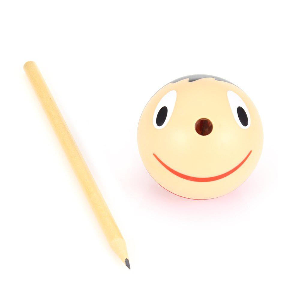 Cartoon Pattern Pencil Sharpener with Pencil 2 in 1