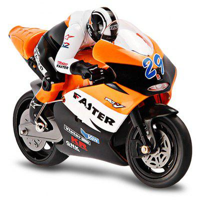 JXD 806 2.4GHz Radio Control 1 / 16 Scale Motorbike with Inertia Wheel Device + Realistic Shock Absorber