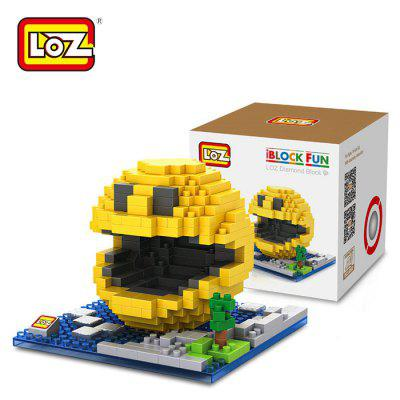 LOZ 380Pcs XL - 9617 Pixel Wars Pac Man Building Block Toy for Enhancing Social Cooperation Ability