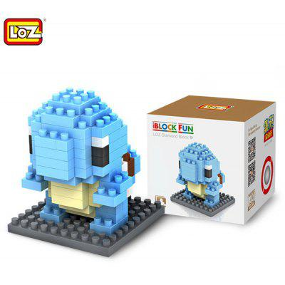 LOZ 110Pcs M - 9140 Pokemon Squirtle Building Block Educational Toy for Cooperation Ability