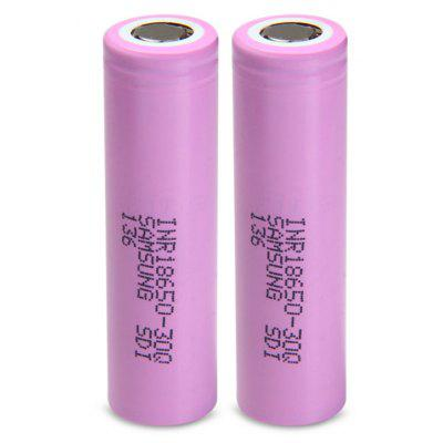3.7V 18650 3000mAh Rechargeable Li-ion Battery INR18650 - 30Q