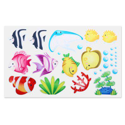 S004 Removable Bathroom Shower Door Glass Sticker
