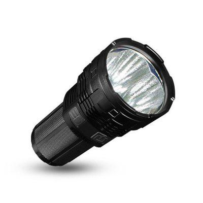 IMALENT DT70 Super Bright Rechargeable FlashlightHot Products<br>IMALENT DT70 Super Bright Rechargeable Flashlight<br><br>Battery Included or Not: Yes<br>Battery Quantity: 4<br>Battery Type: 18650<br>Beam Distance: 601-700m<br>Body Material: Aerospace-grade Aluminum Alloy<br>Brand: Imalent<br>Color Temperature: 6500K<br>Emitters: Cree XHP70<br>Emitters Quantity: 4<br>Feature: Batteries<br>Flashlight size: Super<br>Flashlight Type: Tactical<br>Function: Night Riding, Self-defense, Seeking Survival, Search, Rescue, Walking, Military and Tactical, Hunting, Household Use, Hiking, Exploring, EDC, Camping<br>Impact Resistance: 1.5M<br>LED Lifespan: 50000h<br>Light color: White light<br>Light Modes: High,Location beacon,Low,Mid,SOS,Strobe,Turbo<br>Lumens Range: &gt;9000 Lumens<br>Luminous Flux: 16000<br>Luminous Intensity: 123000cd<br>Max.: 40h<br>Mode Memory: Yes<br>Model: DT70<br>Package Contents: 1 x IMALENT DT70 LED Flashlight, 4 x 3000mAh 18650 Battery, 1 x USB Cable, 1 x Holser, 2 x O-ring, 1 x English Manual<br>Package size (L x W x H): 20.00 x 15.00 x 10.00 cm / 7.87 x 5.91 x 3.94 inches<br>Package weight: 0.9180 kg<br>Power Source: Battery<br>Product size (L x W x H): 14.60 x 7.00 x 7.00 cm / 5.75 x 2.76 x 2.76 inches<br>Product weight: 0.4270 kg<br>Rechargeable: Yes<br>Reflector: Aluminum Textured Orange Peel Reflector<br>Switch Location: Side Switch<br>Waterproof Standard: IPX-8 Standard Waterproof (Underwater 2m)<br>Working Voltage: 3.7V