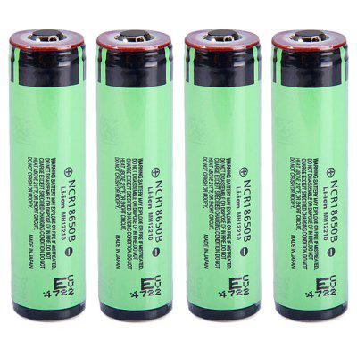 4x Panasonic NCR18650B 3400mAh Protected Battery