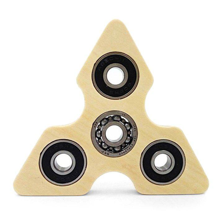 Wooden Gyro Fidget Tool Hand Spinner Stress Reliever Toy