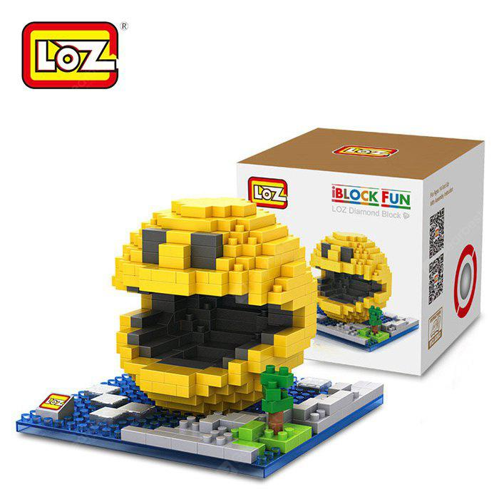 Buy LOZ 38XL - 9617 Pixel Wars Pac Man Building Block Toy Enhancing Social Cooperation Ability COLORMIX