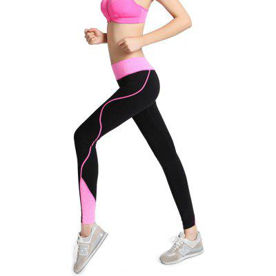 Women Elastic Slim Yoga Pants for Fitness