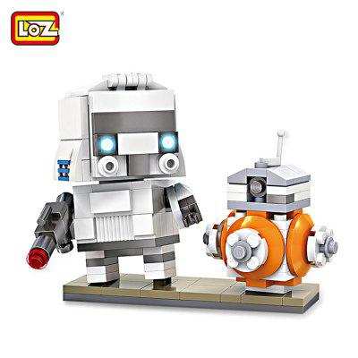LOZ ABS 240pcs Movie Robot Building Block