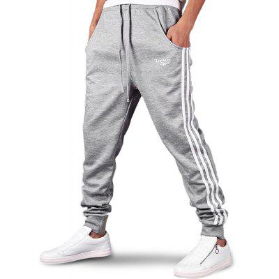 Men Casual Tapered Sweatpants Harem Pants Gym Trousers Joggers