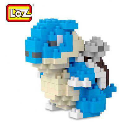 ABS LOZ Figure Style Cartoon Building Brick