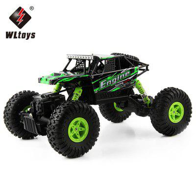 WLtoys 18428 - B 1:18 4WD RC Climbing Car - RTR  -  GREEN