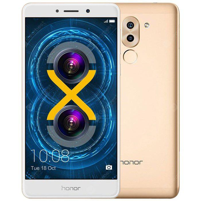 Huawei Honor 6X 4G Phablet 5.5 inch Android 6.0 Kirin 655 Octa Core 2.1GHz 3GB RAM 32GB ROM 12.0MP + 2.0MP Dual Rear Cameras Fingerprint Scanner