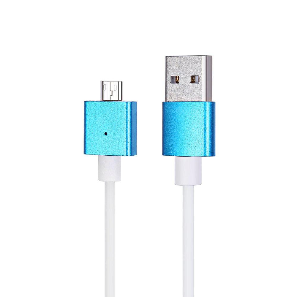 1m Detachable Magnetic Micro USB Charge Data Sync Cable