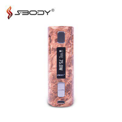 Original SBODY C1D2 DNA75W E Cigarette TC Mod
