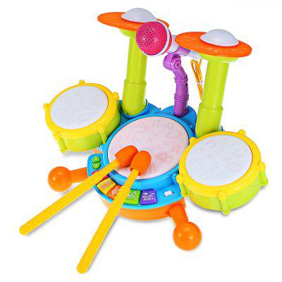Kid Preschool Simulation Musical Jazz Drum