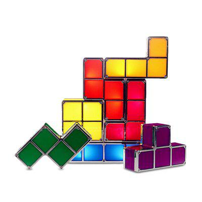DUOQILE DIY Dimensional Magic Cube Lamp - 7pcs / set