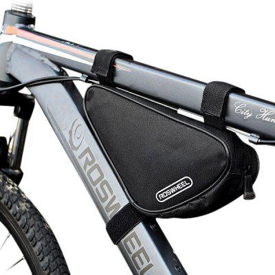 roswheel 12657 15l outdoor triangle cycling bicycle front tube frame bag