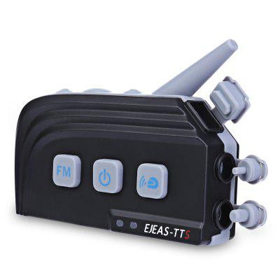 EJEAS TTS Motorcycle Helmet Bluetooth Intercom Headset