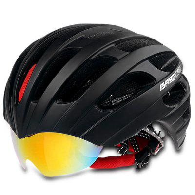 Basecamp Cycling Helmet with 3pcs Windproof Lens Bicycle Riding Accessories