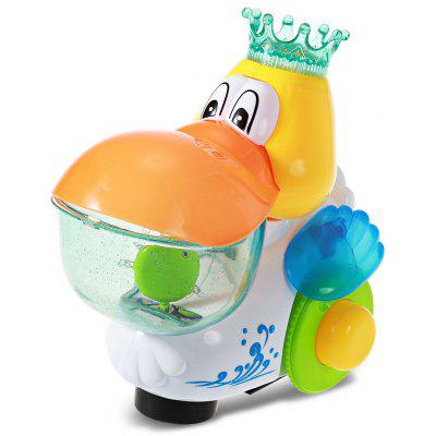 Baby Electric Musical Walking Duck Toy with Flashing Light