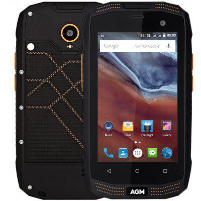 Buy BLACK AGM A2 4G Smartphone for $119.99 in GearBest store