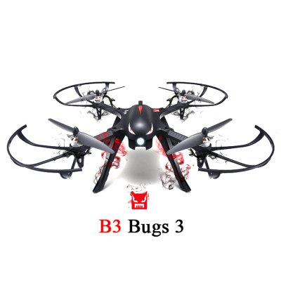 MJX B3 Bugs 3 RC Quadcopter - RTF mjx bugs 3 rc quadcopter rtf black