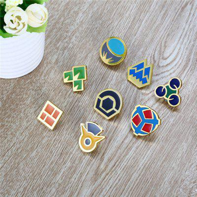 Alloy Badge Movie Product Children Present - 8pcs / setKey Chains<br>Alloy Badge Movie Product Children Present - 8pcs / set<br><br>Completeness: Finished Goods<br>Gender: Unisex<br>Materials: Metal<br>Package Contents: 8 x Badge<br>Package size: 12.00 x 13.00 x 4.00 cm / 4.72 x 5.12 x 1.57 inches<br>Package weight: 0.1700 kg<br>Product weight: 0.1500 kg<br>Stem From: Japan<br>Theme: Movie and TV