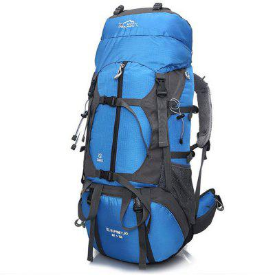 Buy BLUE LOCAL LION 60L Water Resistant Trekking Backpack for $48.99 in GearBest store