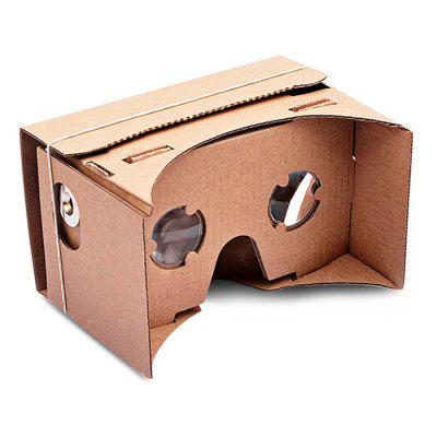 DIY VR 3D Google Mobile Phone Cardboard Glasses Kit for iPhone / Samsung / Google Nexus 6