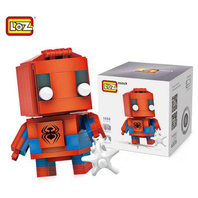 LOZ Figure Style ABS Cartoon Building Brick