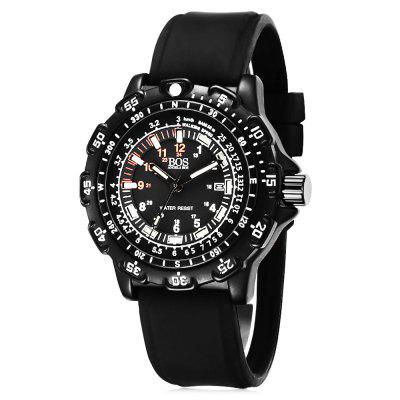 AngelaBos 8015G Luminous Men Quartz Watch