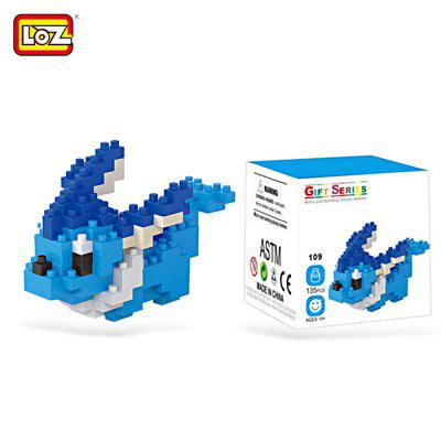 135pcs LOZ Figure Style Cartoon ABS Building Brick