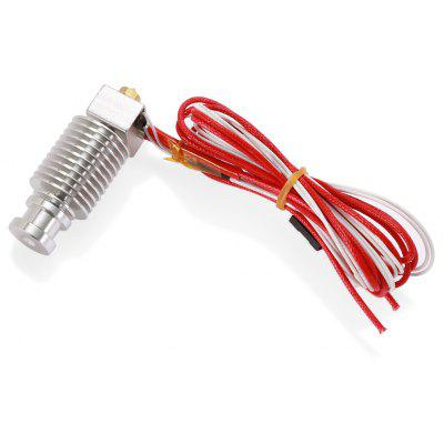 E3D - V6 0.3mm 3D Printer Extruder Hot End Full Kit