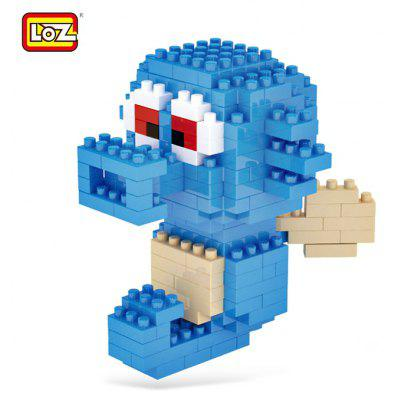 229pcs LOZ Figure Style Cartoon ABS Building Brick