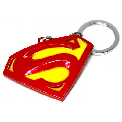 Superman Mark Metal Key Chain