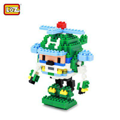 LOZ 8212 Cartoon Building Block Educational Decoration Toy for Spatial Thinking - 313Pcs