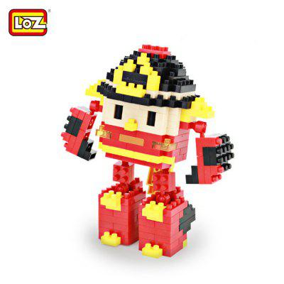LOZ 8211 Cartoon Building Block Educational Decoration Toy for Spatial Thinking - 279Pcs