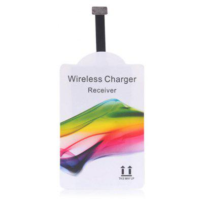 Qi Standard Wireless Charging Receiver for iOS System Devices